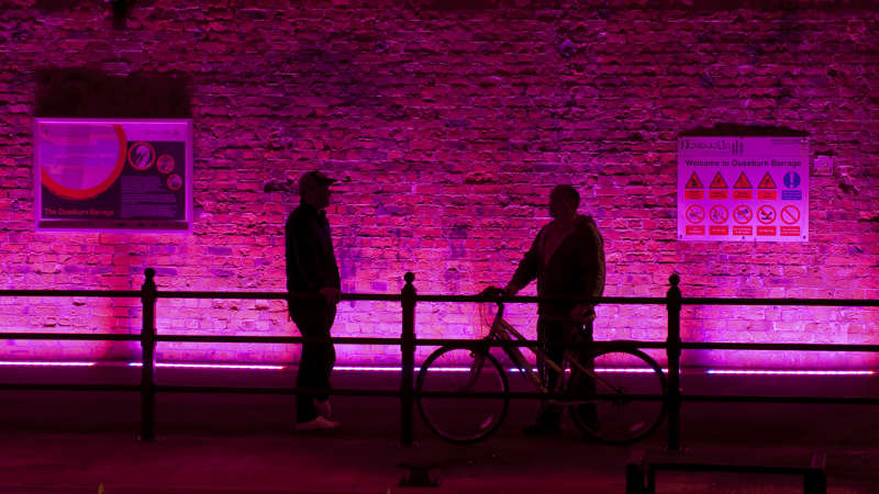 See how LEDs transform public spaces