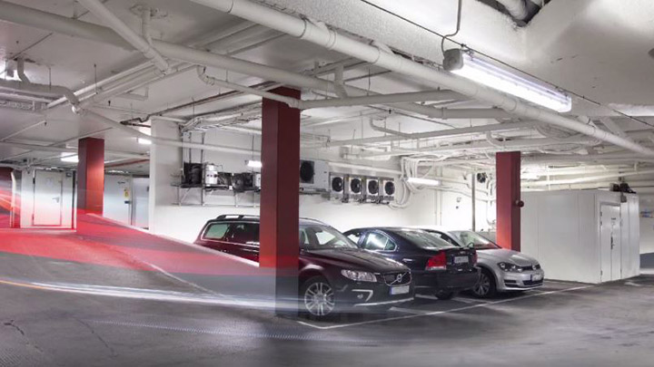 Pacific LED Green Parking system