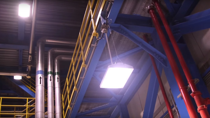 DEWA Power Plants LED lighting retrofit project video
